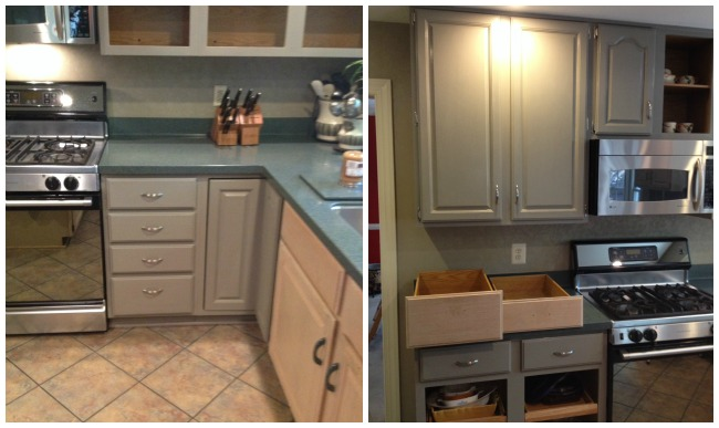 lucketts during cabinets